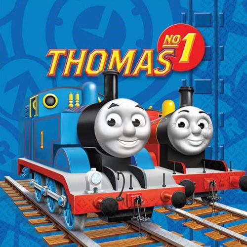 Tovaglioli festa Trenino Thomas