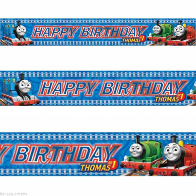 Festone Happy Birthday Trenino Thomas