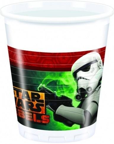 Bicchieri festa Star Wars Stormtrooper