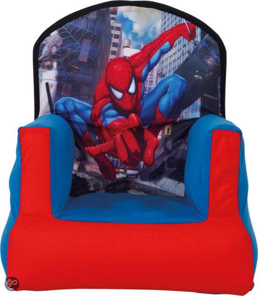 Poltroncina gonfiabile Spiderman
