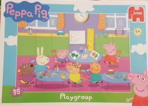 Puzzle 35 pezzi Peppa Pig Playgroup