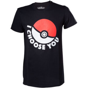 T-shirt adulto Pokemon I choose You