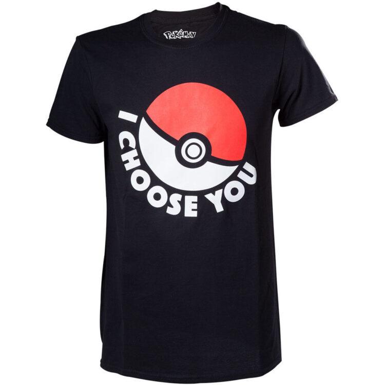 T-shirt adulto Pokemon I choose You