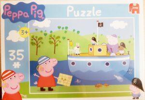 Puzzle 35 pezzi Peppa Pig Marinaia