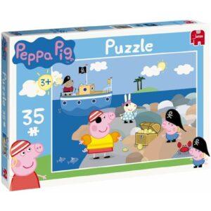 Puzzle 35 pezzi Peppa Pig Peppa e George