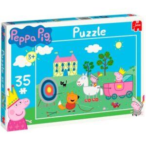 Puzzle 35 pezzi Peppa Pig Peppa Principessa