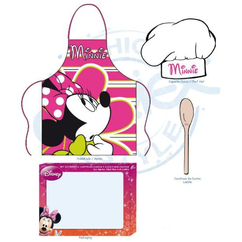 Set Cuoca Minnie 3 pezzi