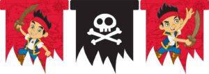 Festone bandierine Jake e i Pirati dell'Isola che non c'è
