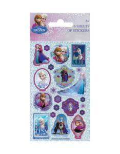 Set Stickers Disney Frozen 6 fogli