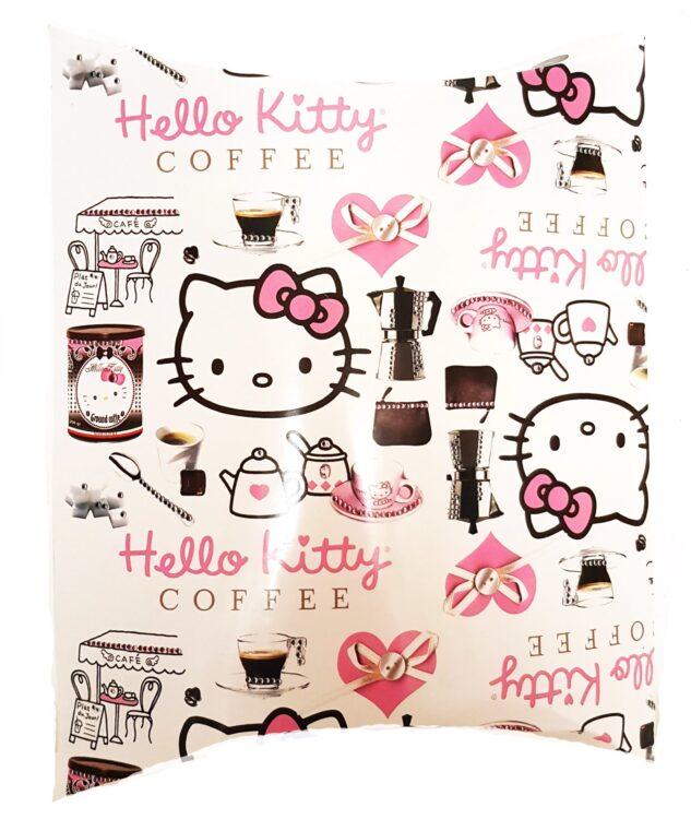 T-shirt donna manica lunga Hello Kitty Coffee