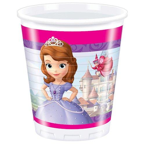 Bicchieri festa Sofia la Principessa