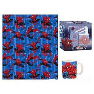 Spiderman set regalo Plaid e tazza