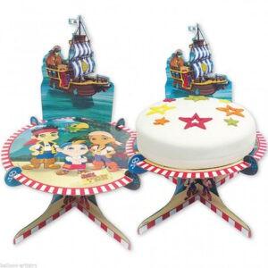 Alzata torta Jake e i Pirati dell'Isola che non c'è