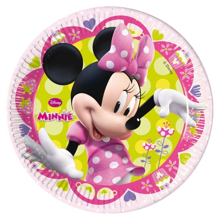 Piatti dessert party Disney Minnie