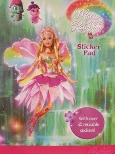 Quaderno stickers Barbie