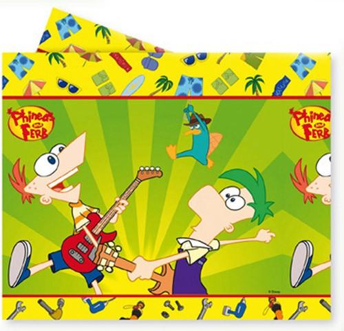Tovaglia per festa Phineas e Ferb