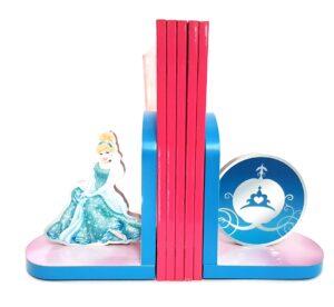 Reggilibri in legno Principesse Disney