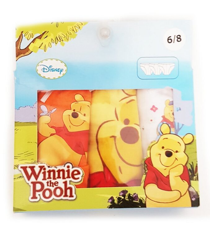 Confezione 3 slip bimba Winnie the Pooh
