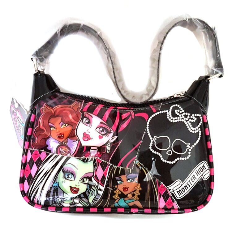Borsetta da spalla in vernice Monster High
