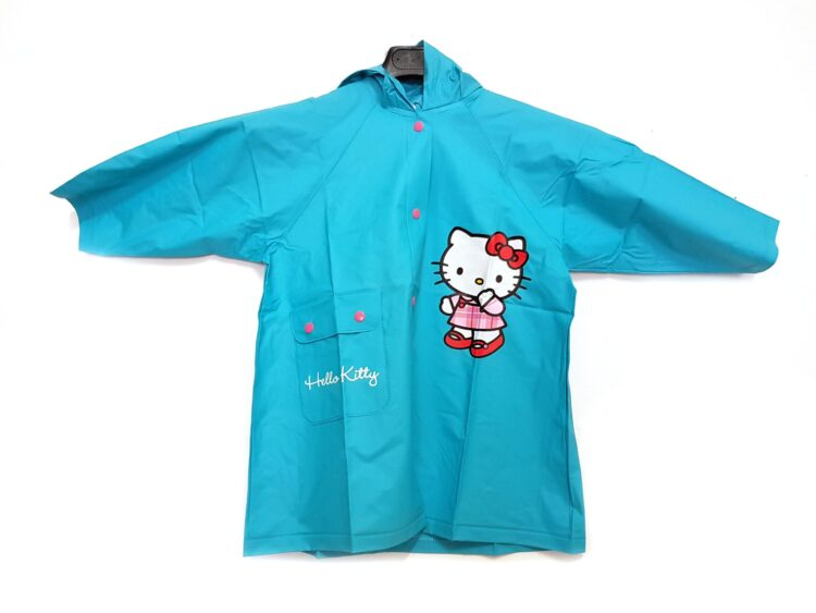 Giubbino impermeabile Hello Kitty