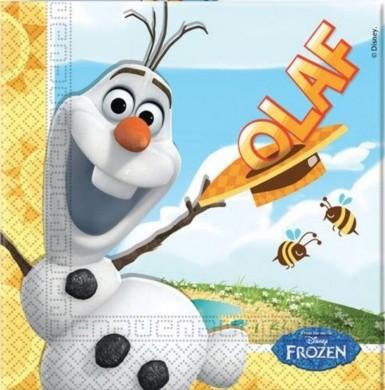 Tovaglioli festa Olaf Disney Frozen