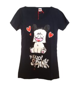 T-Shirt Hello Spank Cuori ragazza
