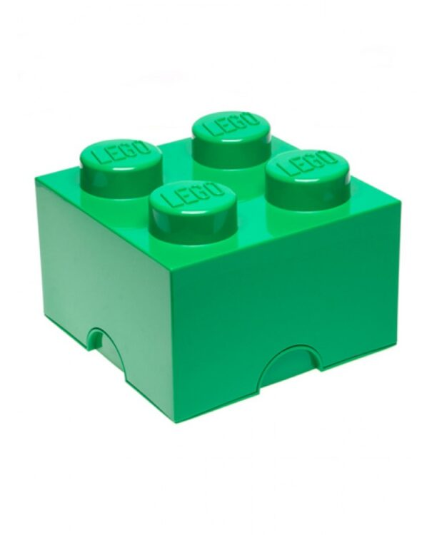 Scatola Mattoncino Lego Grigia