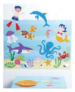 Decorazioni murali Seaquarium