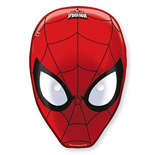Confezione 6 maschere Ultimate Spiderman