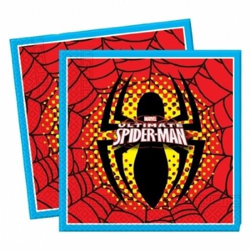 Tovaglioli per festa Spiderman Ultimate