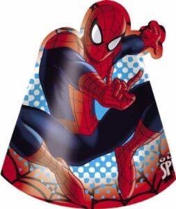 Cappellini per festa Spiderman