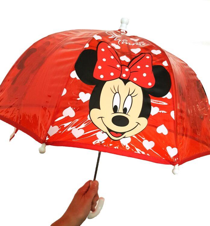 Ombrello Minnie Cuori trasparente