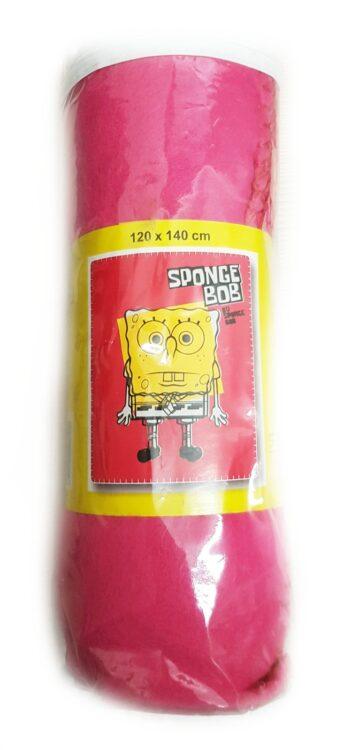 Plaid pile Spongebob Pink