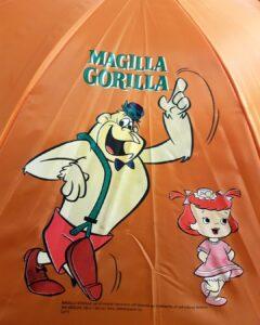Ombrello e impermeabile Magilla Gorilla