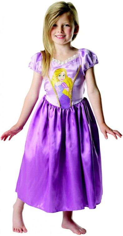 Costume carnevale bimba Rapunzel