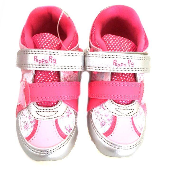 Sneakers bambina Peppa Pig silver
