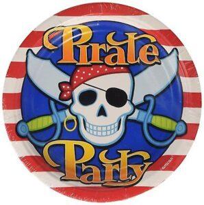 Piatti per festa Pirati