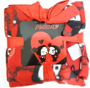 Set Pantofole e Plaid Pucca Polar