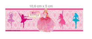 Bordo adesivo Barbie Principesse Danzanti