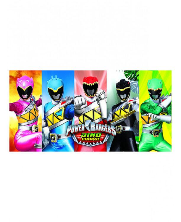 Asciugamano telo mare Power Rangers Montage