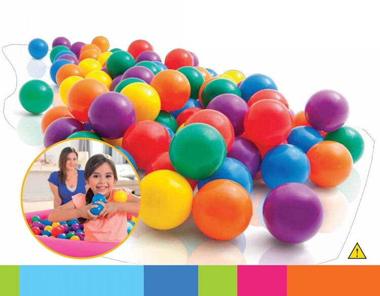 100 Palline colorate by Intex