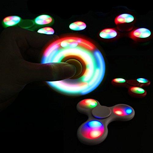 Fidget Spinner con luci led