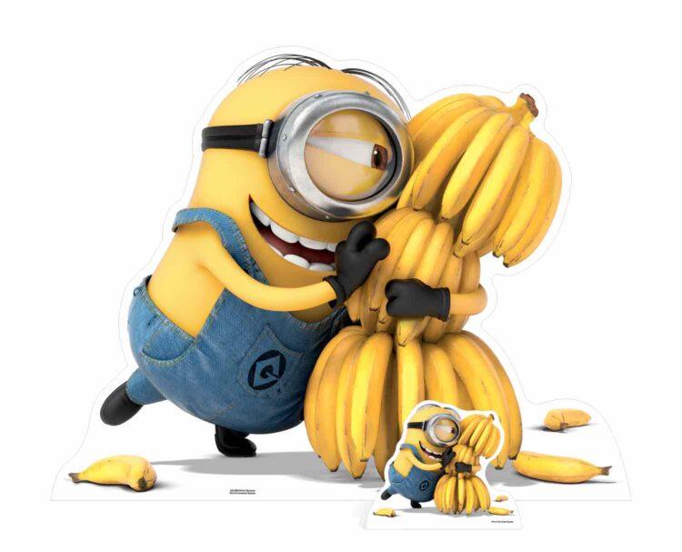 Minions - Sagoma cartonata di Minion e le banane