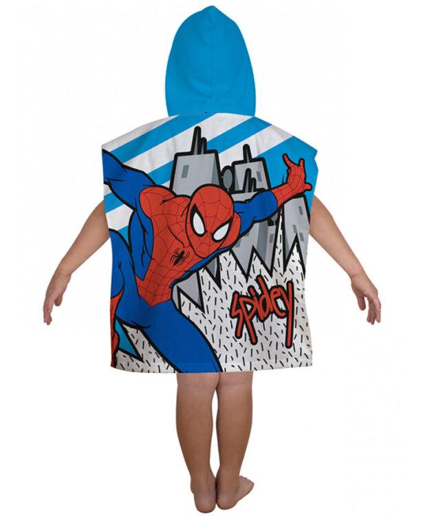 Accappatoio poncho Spiderman Comics