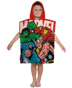 Accappatoio poncho Marvel Comics