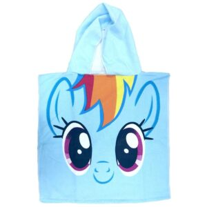 My Little Pony Accappatoio poncho Rainbow Dash