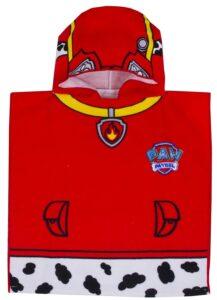 Accappatoio poncho Paw Patrol Marshall