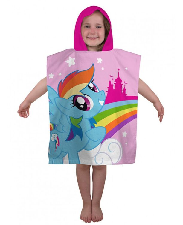 Accappatoio poncho My Little Pony
