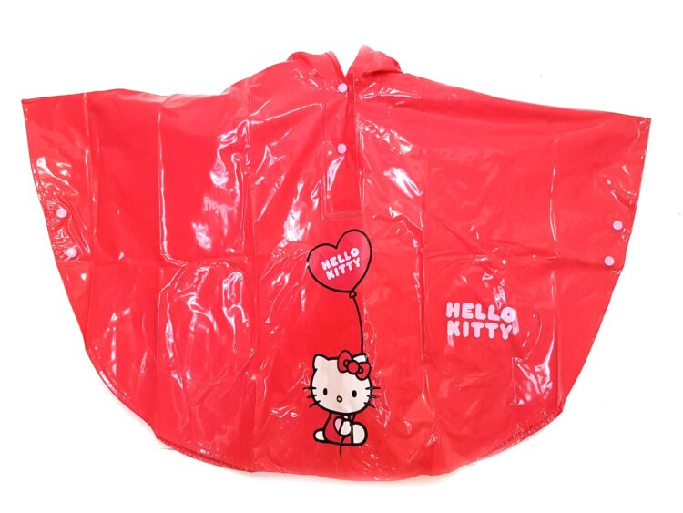Mantellina impermeabile Hello Kitty