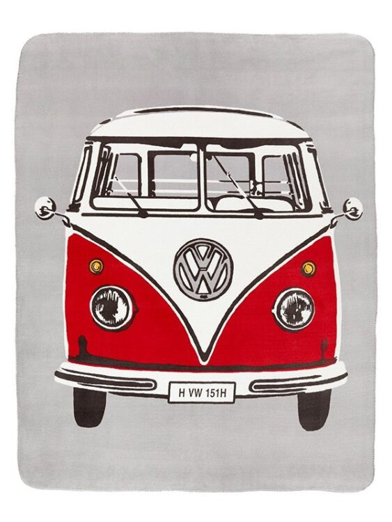 Plaid pile Pullmino Volkswagen Retrò